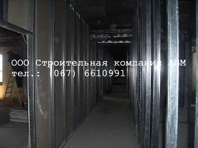 Монтаж гипсокартона