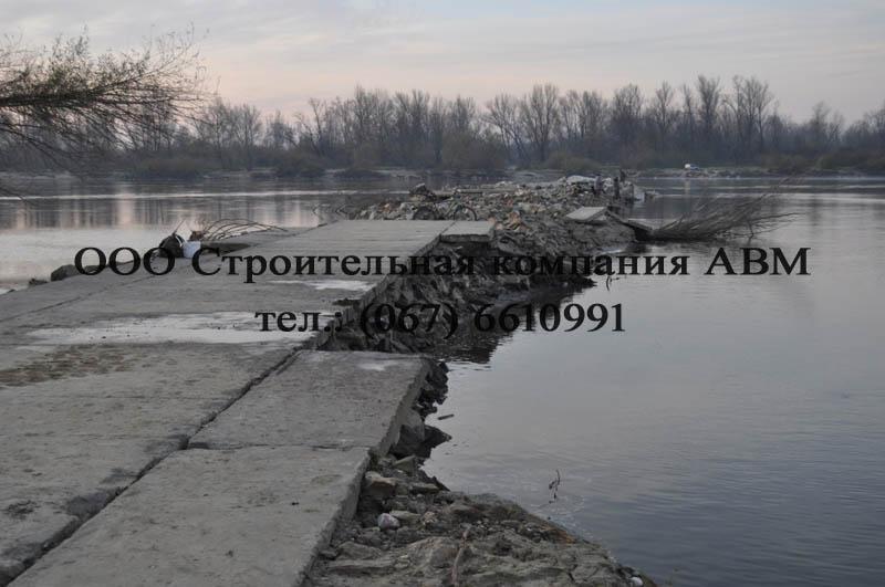Строительство дороги из аэродромных плит