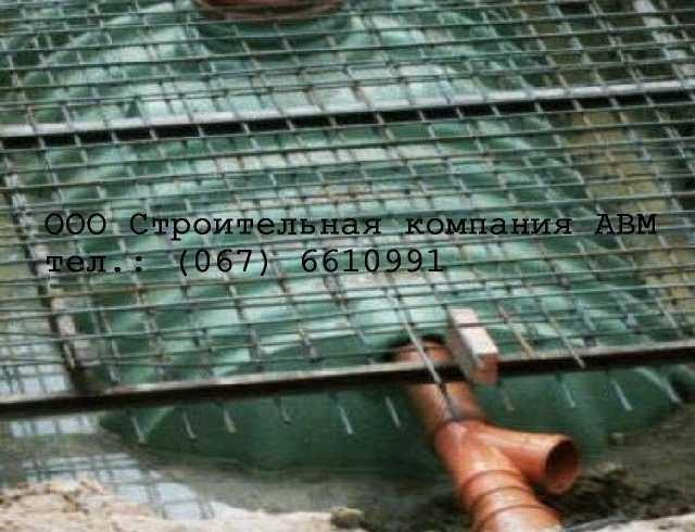 Автономная канализация монтаж